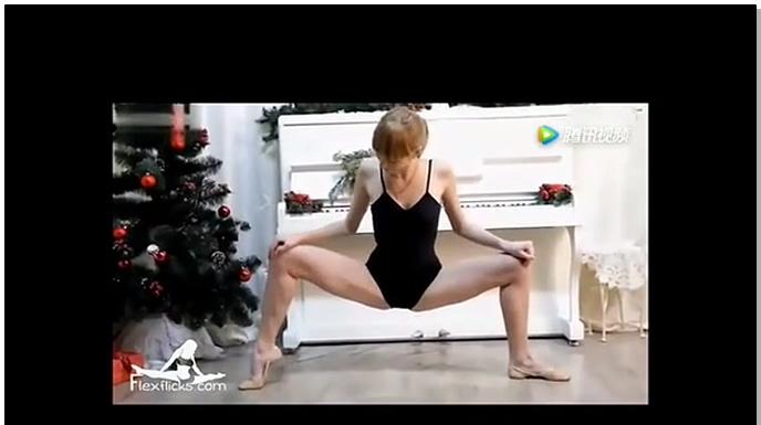 俄羅斯美女柔術展示,亮點在28秒。看的褲子都濕了!
