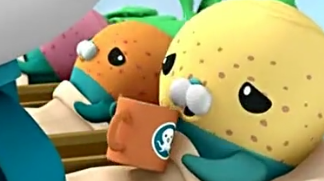 海底小纵队:小萝卜都生病了,要喝了海藻汤才能好