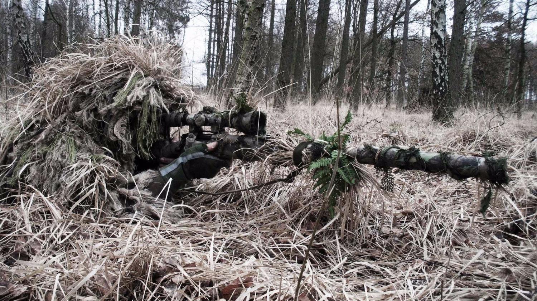 史上最精彩狙击组合,让整支军队不敢前行........